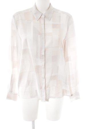 mbyM Langarm-Bluse grafisches Muster Elegant