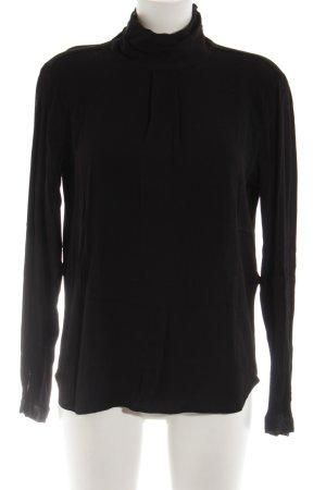 mbyM Langarm-Bluse schwarz Casual-Look
