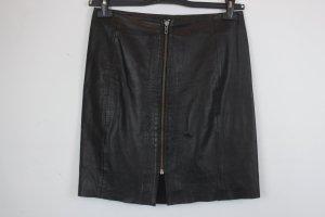 mbyM Leather Skirt black