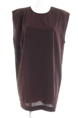 mbyM Long Top brown violet elegant
