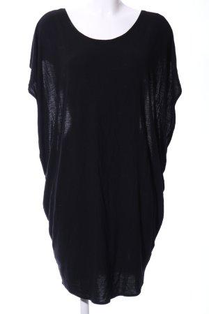 mbyM Oversized shirt zwart casual uitstraling