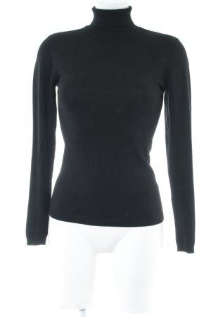 mbyM Rollkragenshirt schwarz minimalistischer Stil