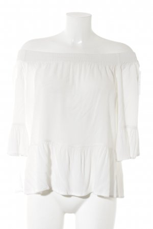 mbyM Ruffled Blouse white simple style