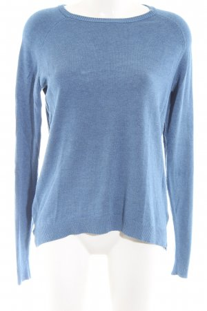 mbyM Rundhalspullover blau Casual-Look