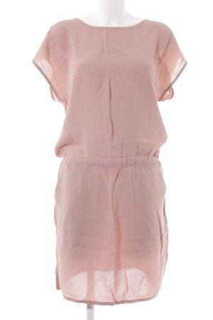mbyM T-shirt jurk stoffig roze casual uitstraling