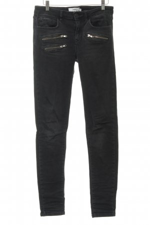 mbyM Skinny Jeans anthrazit Casual-Look