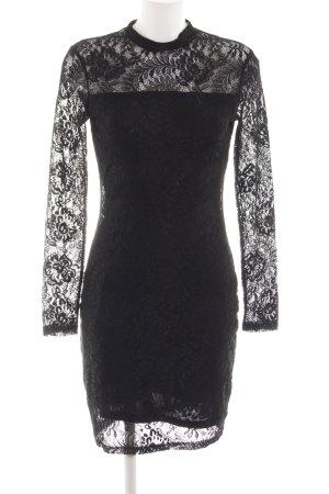 mbyM Spitzenkleid schwarz Elegant