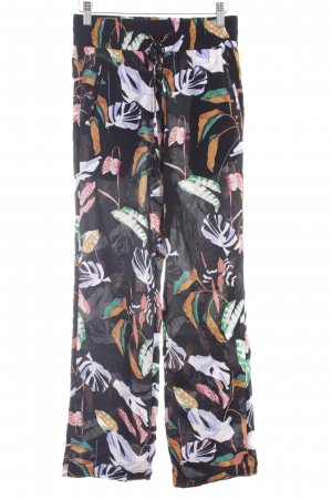 mbyM Stoffhose florales Muster Casual-Look