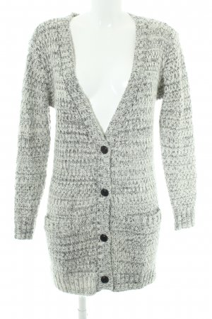 mbyM Knitted Coat natural white-black flecked casual look