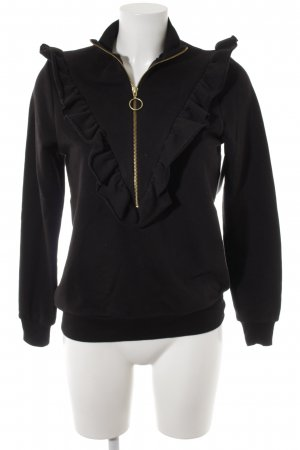 mbyM Sweatshirt schwarz Casual-Look