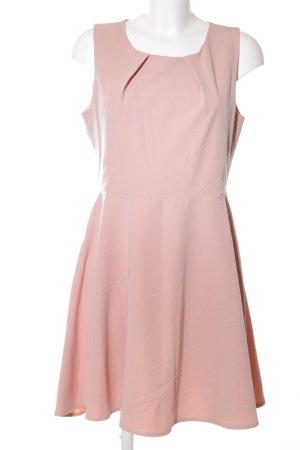 mbyM Trägerkleid wollweiß-pink Elegant