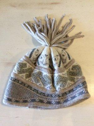 Mc Burn Chapeau en tricot multicolore