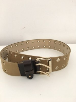 Alexander McQueen Leather Belt multicolored leather