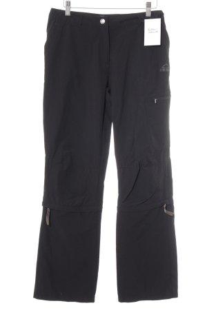 McKinley Pantalone cargo nero stile atletico