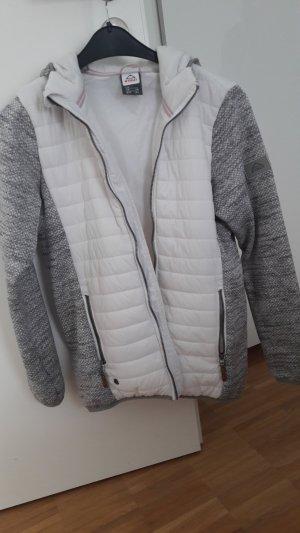 McKinley Veste d'extérieur blanc-gris clair polyester