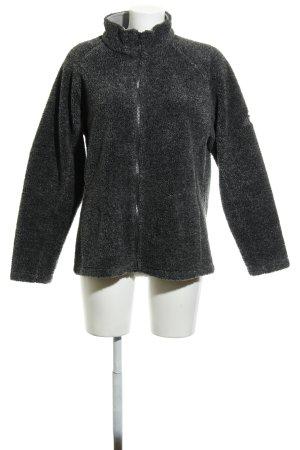 McKinley Chaqueta de forro polar gris antracita-gris oscuro moteado mullido
