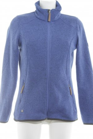 McKinley Fleece Jackets steel blue-black flecked casual look