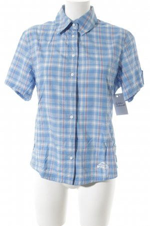 McKinley Kurzarm-Bluse Karomuster Casual-Look