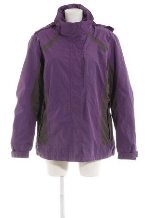 McKinley Winterjacke grauviolett-anthrazit sportlicher Stil