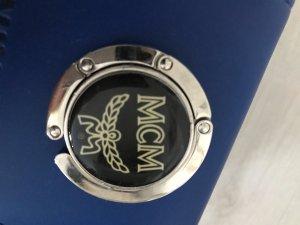 MCM Porte-clés noir-blanc matériel synthétique
