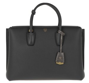 MCM Handbag anthracite-dark grey
