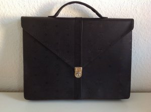 MCM Briefcase black-gold-colored
