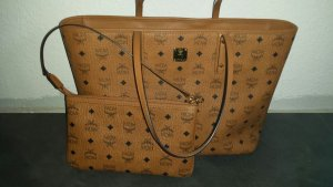 MCM Bag cognac-coloured-brown leather