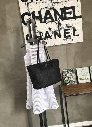 MCM Shopper black-white