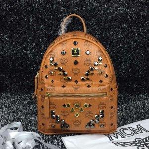 Mcm Backpack Rucksack Small_Cognac