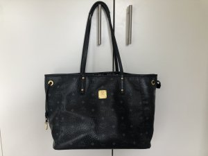 MCM Shopper noir-gris