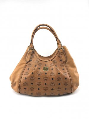 MCM Handbag brown-cognac-coloured