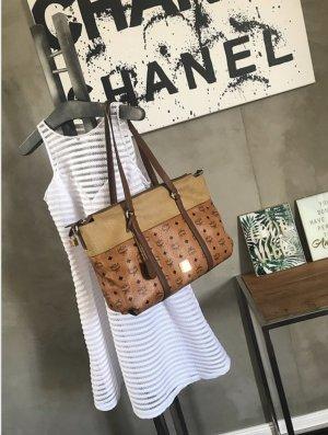 MCM Handtas cognac-bruin