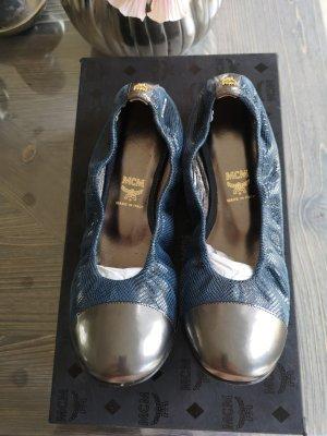 MCM Ballerinas Schuhe Designer Neu Gr 37