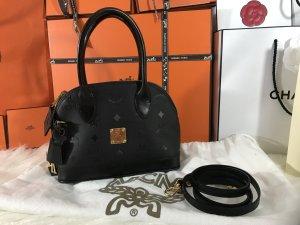 MCM Carry Bag black-sand brown