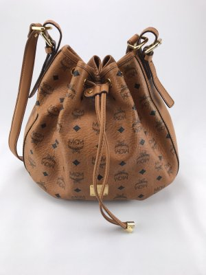 MCM Pouch Bag cognac-coloured