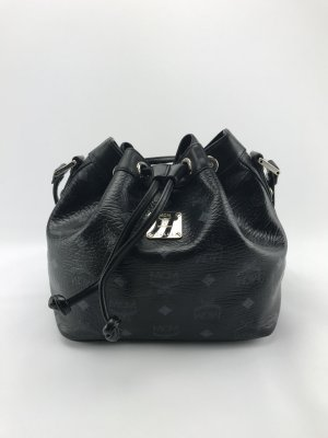 MCM Pouch Bag black-grey