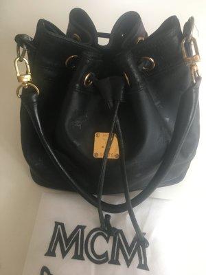 MCM Sac seau noir