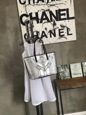 MCM Shopper silver-colored-black