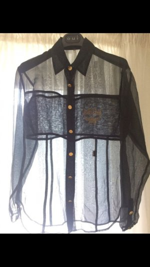 MCM Blouse black-gold-colored