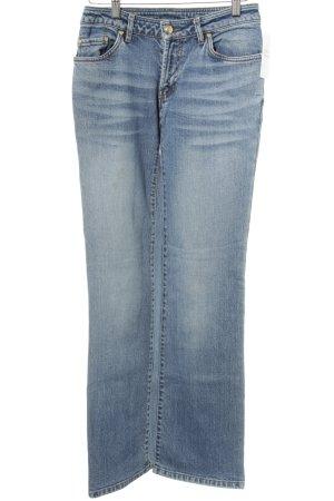 MCM Boot Cut Jeans kornblumenblau Casual-Look