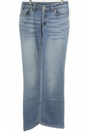MCM Boot Cut Jeans cornflower blue casual look
