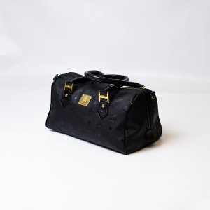 MCM Boston Speedy Tasche Schwarz Original