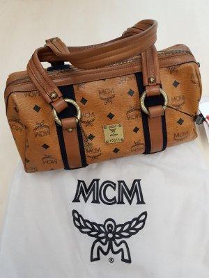 MCM Boston Tasche cognac mit Kaufbeleg & Zertifikat