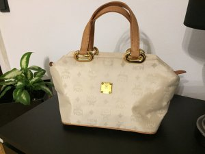 MCM Bowlingbag Trage Tasche Top Luxus Style Blogger Instyle RAR Vintage