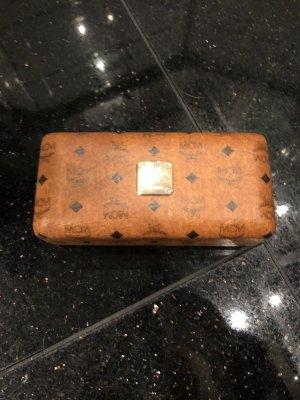 MCM Mini sac brun-noir