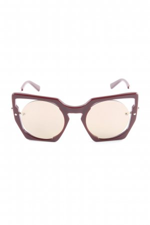 MCM Butterfly Glasses purple casual look