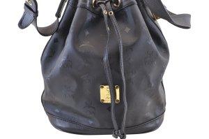 MCM Shoulder Bag black textile fiber