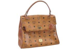 MCM Handbag brown textile fiber