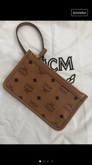 MCM Borsa clutch cognac-nero