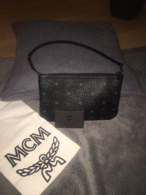 MCM Borsa clutch nero-antracite